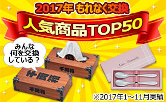 2017年人気商品TOP50